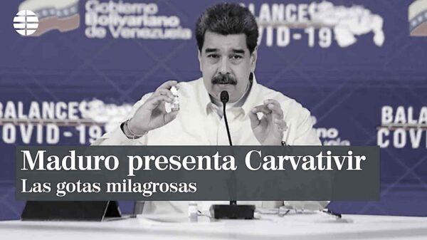 Venezuela anuncia haber creado un medicamento contra el Covid