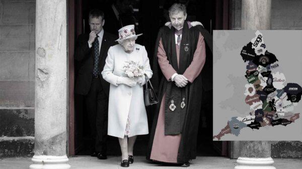 Empresas, aristócratas y entidades corporativas y eclesiásticas que poseen 1/3 de Inglaterra y Gales