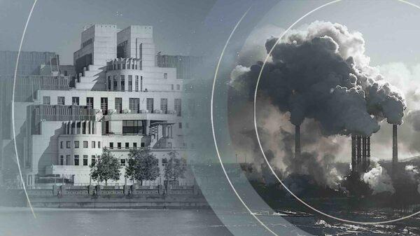 El MI6 espía a los 'mayores contaminadores' para asegurarse de que cumplan sus promesas sobre el cambio climático