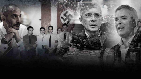 Conozca al neonazi que asesora a la policía colombiana sobre cómo desarticular el paro nacional