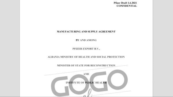 Filtran los 'escandalosos' contratos internacionales de Pfizer para manufactura y adquisición de la vacuna COVID-19