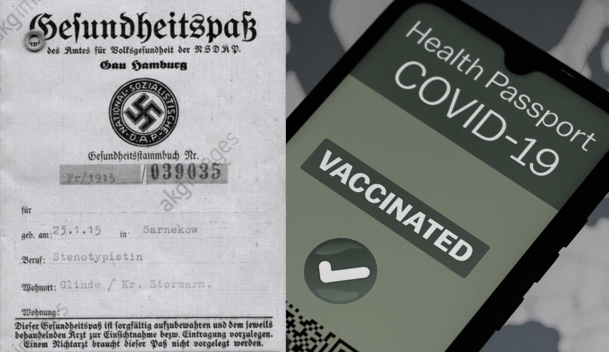 Tarjetas sanitarias y pasaportes biométricos en la Alemania nazi y sus paralelismos con el mundo post-Covid promovido a través de la agenda del Gran Reseteo