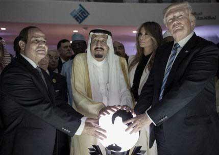 trump casa de saud