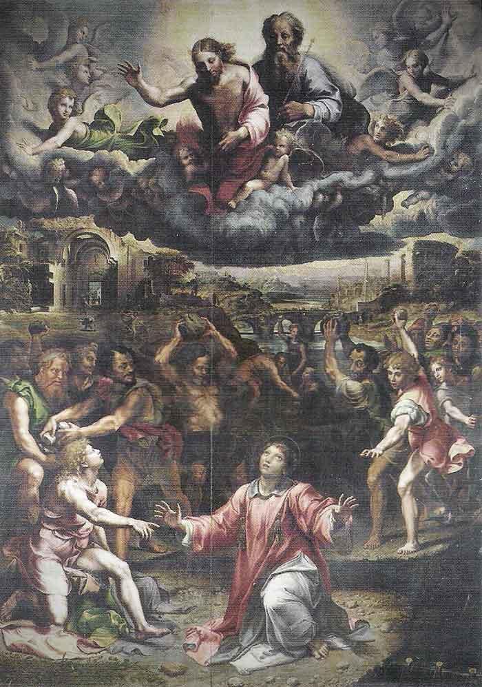 martirio de san esteban