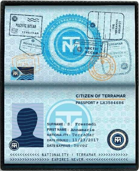 pasaporte ciudadano del oceano
