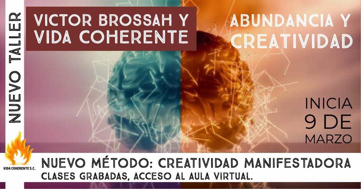 flyer creatividad manifestadora